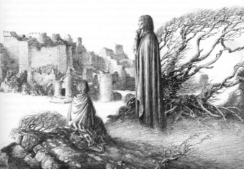 Merlin Dreams by Alan Lee