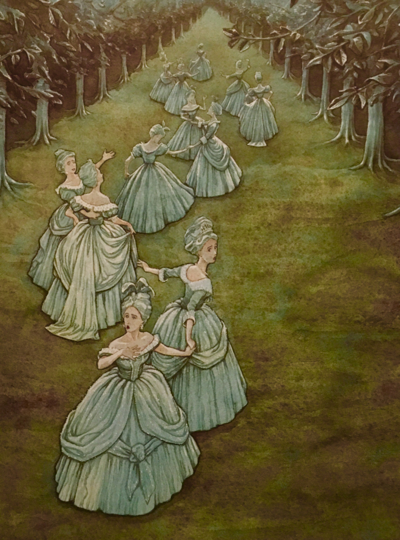 The Twelve Dancing Princesses by PJ Lynch