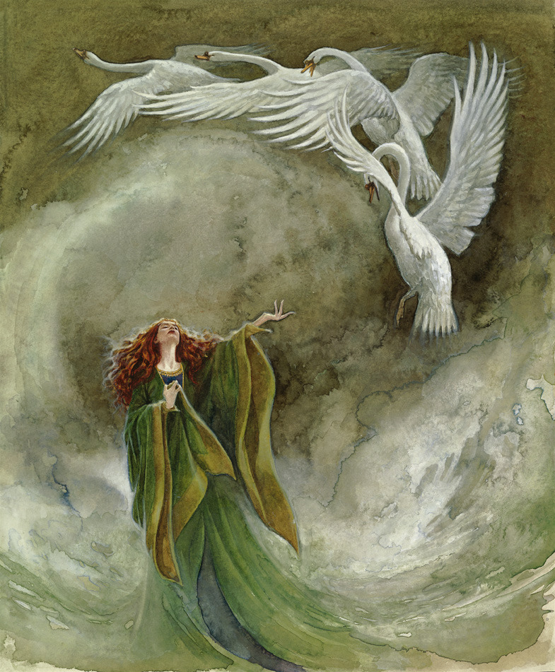 The Children of Lir by PJ Lynch