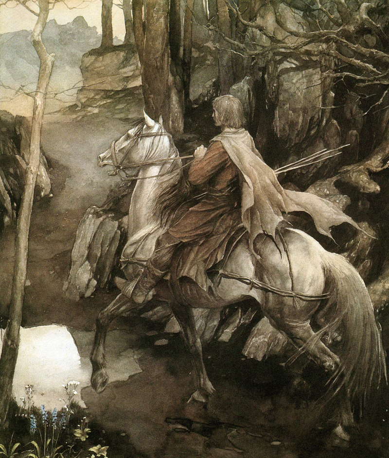The Mabionogion illustrated by Alan Lee