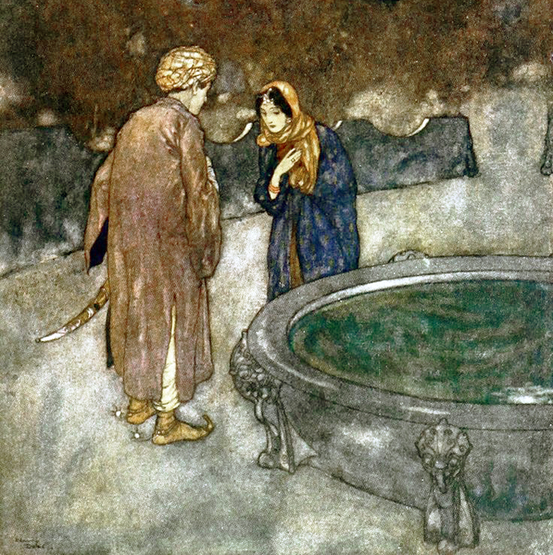 The Arabian Nights illustrated by Edmund Dulac