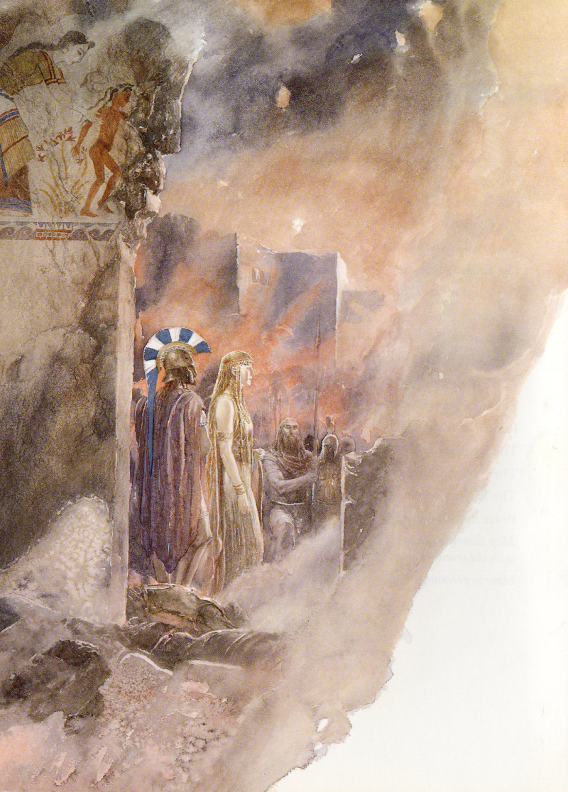 The Wanderings of Odysseus by Alan Lee