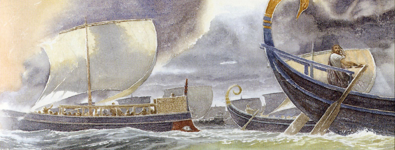 The Wanderings of Odysseus by Alan Lee
