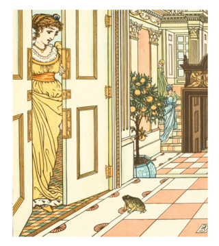 The Frog Prince illustrated by Walter Crane