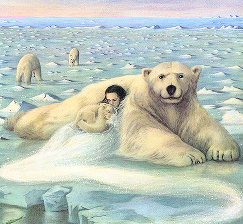 The Ice Palace by Angela Barrett