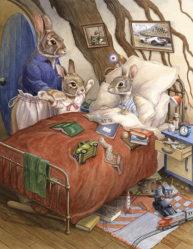 Peter's Bedroom by Chris Dunn
