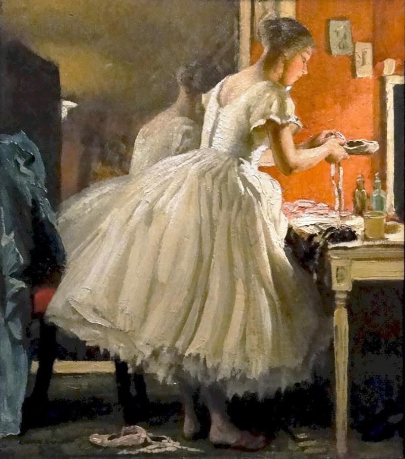 Ballet Dancer by Laura Knight