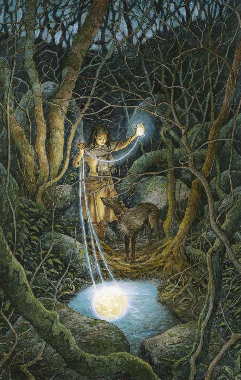 Spinning Moonlight by David Wyatt