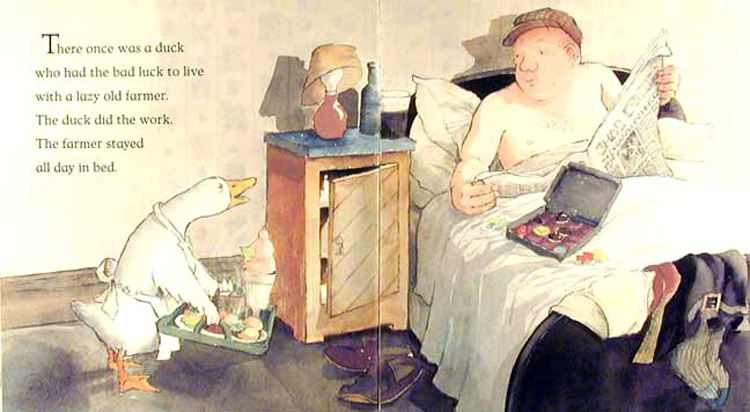 Farmer Duck illustrated by Helen Oxenbury *