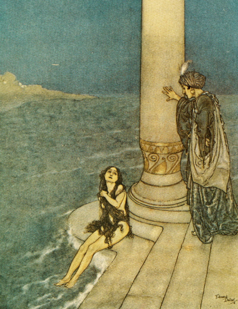 The Little Mermaid illustrated by Edmund Dulac
