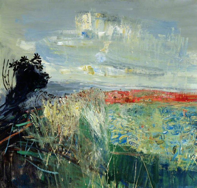 Field of Barley by the Sea by Joan Eardley