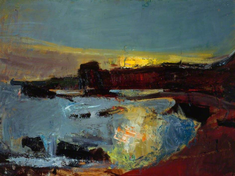 Seascape by Joan Eardley