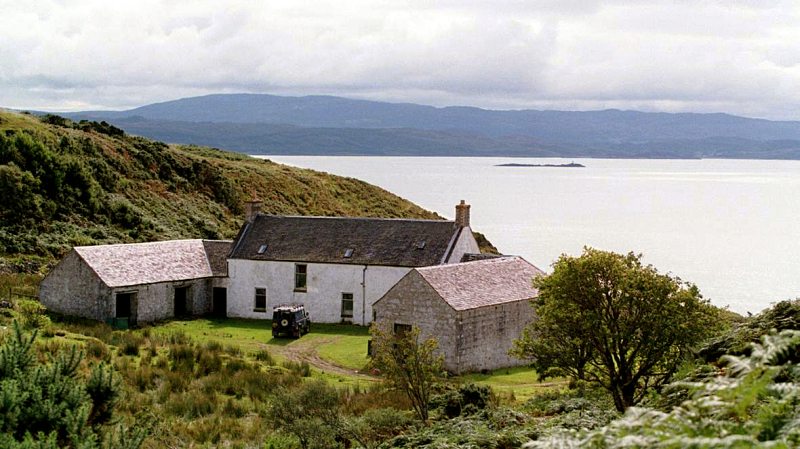 Barnhill on the island of Jura