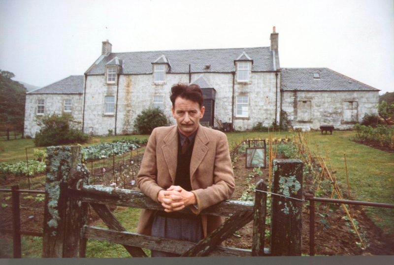 George Orwell at Barnhill.