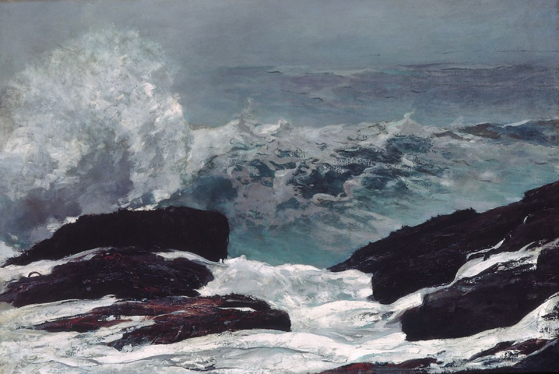The Maine Coast by Winslow Homer