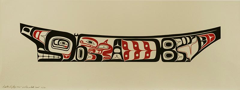 Killer Whale Canoe by Preston Singletary