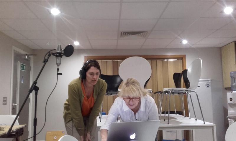 Recording the intersitial pieces