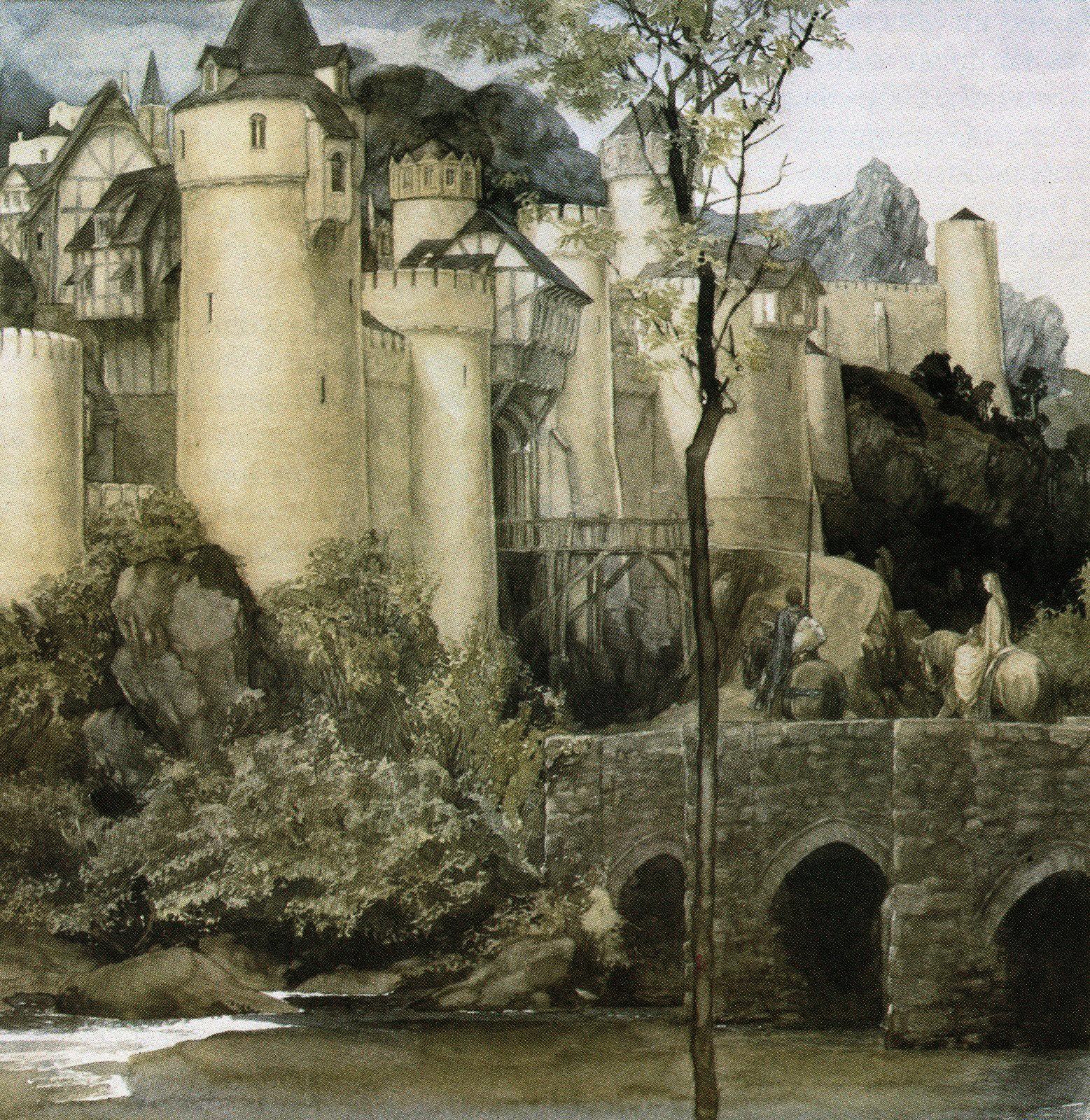 Myth & Moor: The Mythic Art of Alan Lee