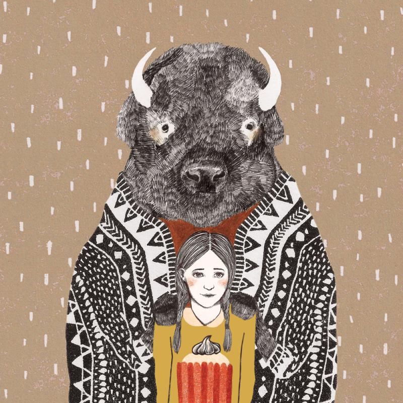 Bison by Lieke van der Vorst