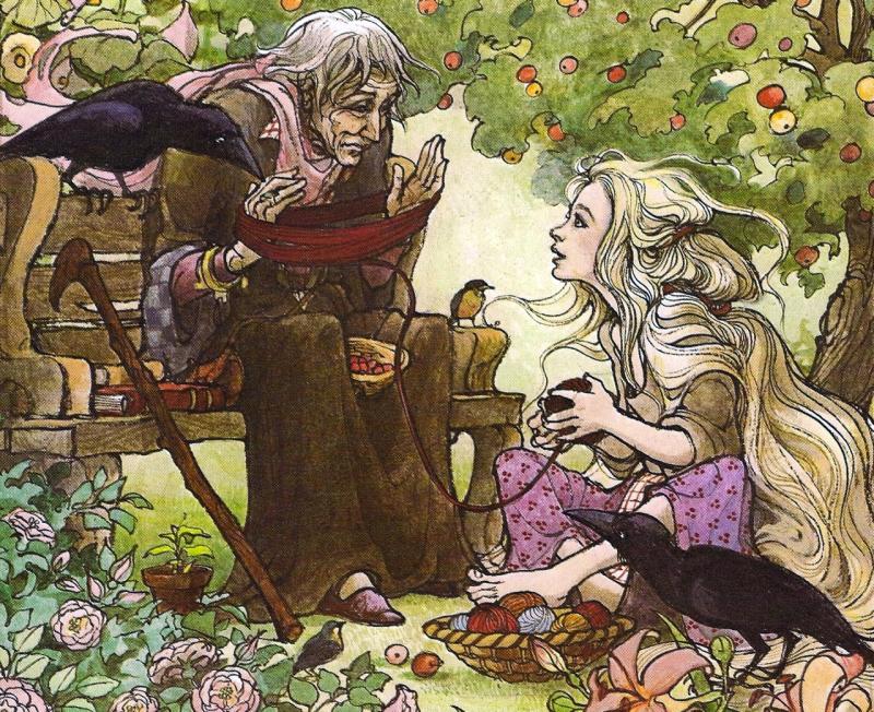 Rapunzel by Trina Shart Hyman