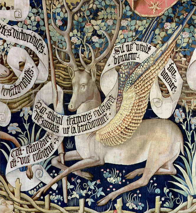 Winged Stag Tapestry