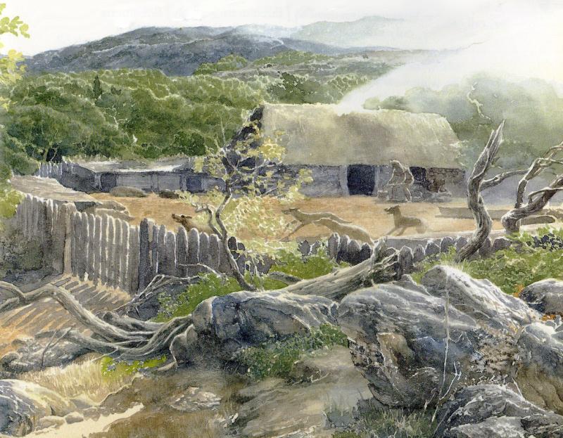The Wanderings of Odysseus Alan Lee