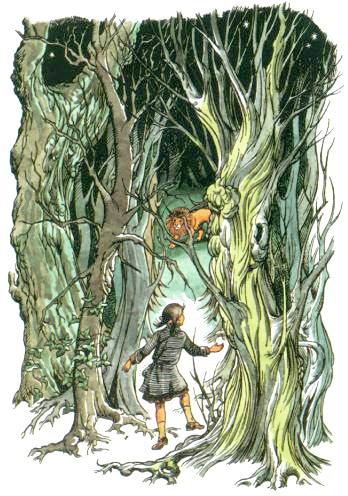 The Chronicles of Narnia illustrated by Pauline Baynes