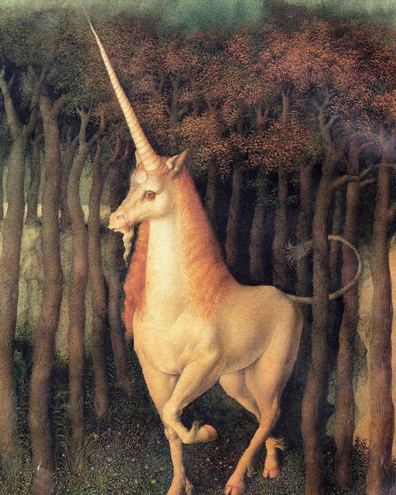 Unicorn by Gennady Spirin