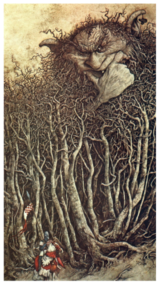 A twlight wood by Brian Froud