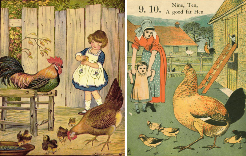 Illustrations by Milo Winter and Walter Crane