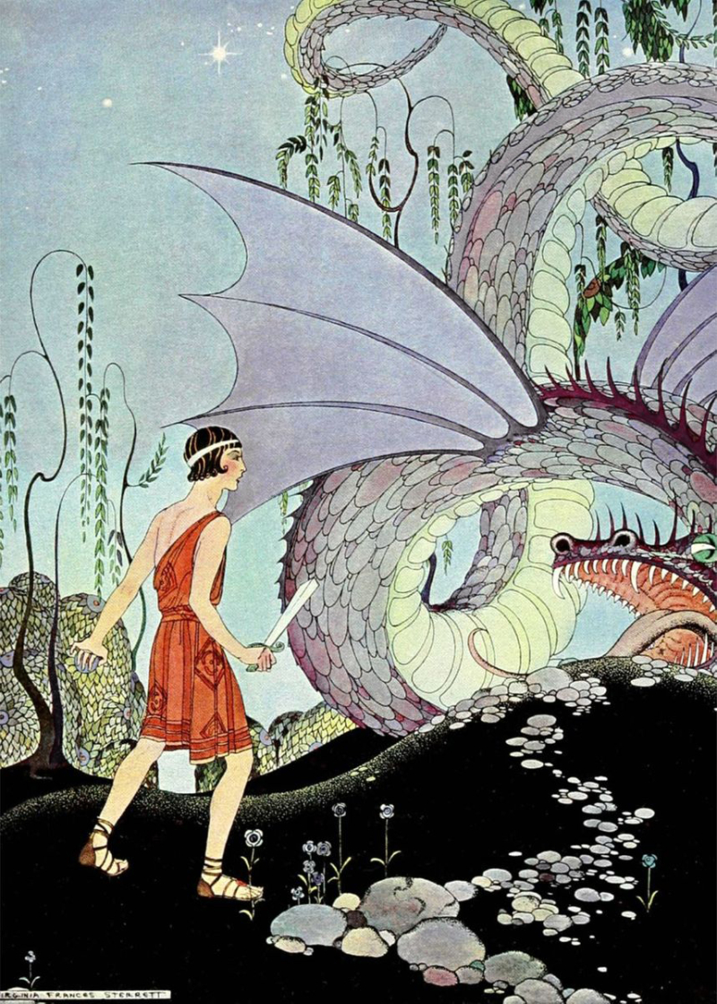 Cadmus and the Dragon by Virginia Frances Sterrett