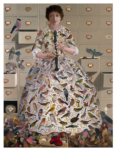 A Personification of the Sense of Hearing by Lizzie Riches