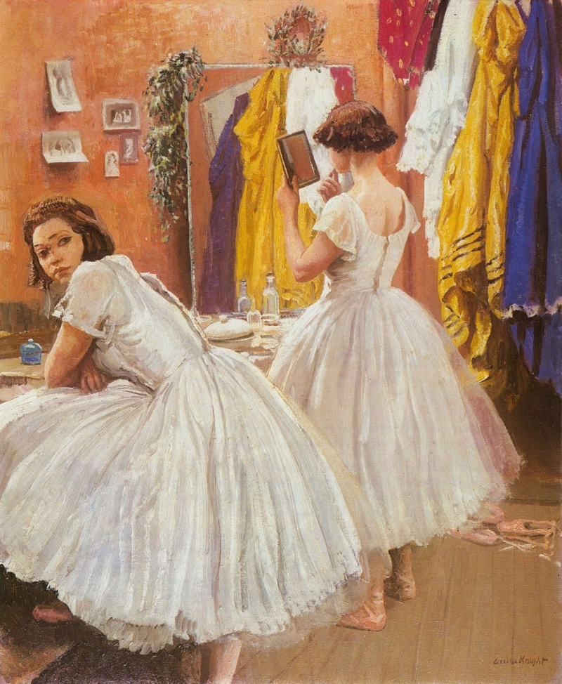 Ballet Dancers by Laura Knight