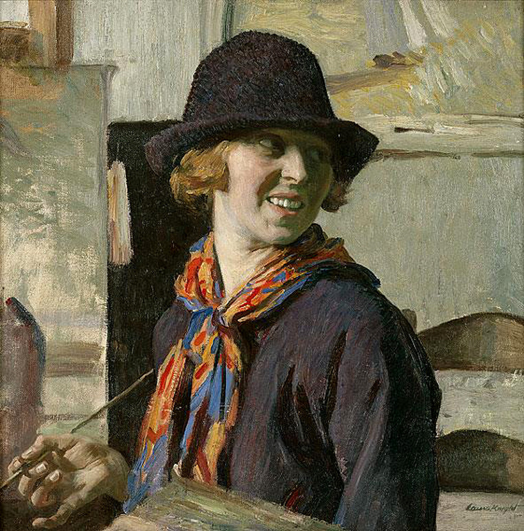 Self-portrait by Laura Knight