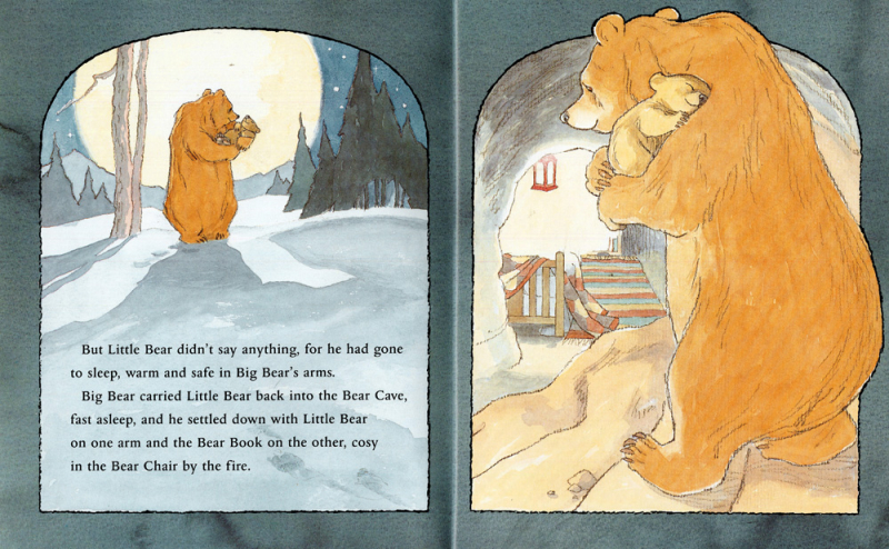 Can't You Sleep Little Bear illustrated by Barbara Firth