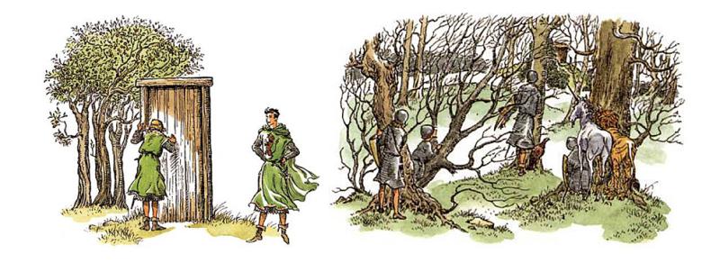 Narnia illustration by Pauline Baynes