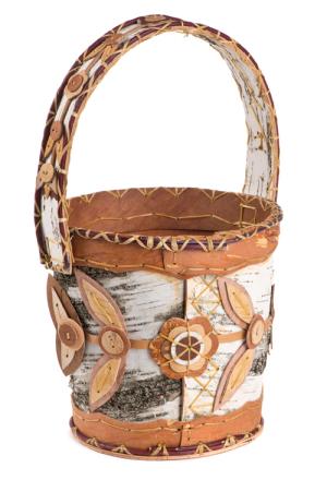 Birchbark Basket 2 by Pat Kruse