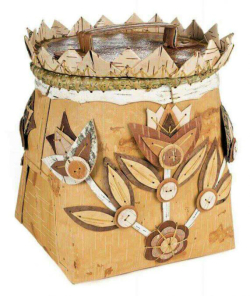 Birchbark Basket by Pat Kruse
