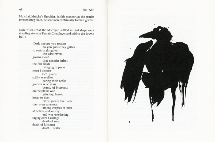 The Táin illustrated by Louise de Brocquy