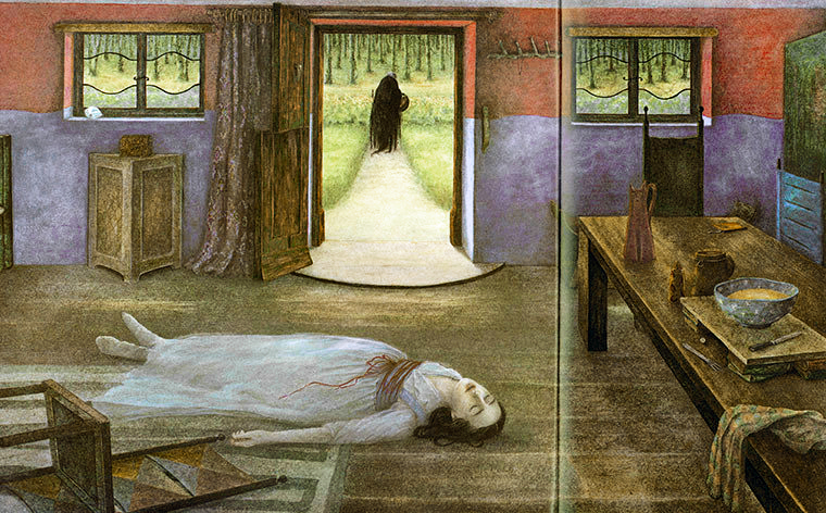 Snow White illustrated by Angela Barrett
