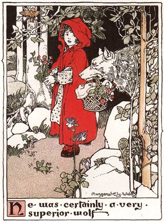 Little Red Riding Hood by Margaret Ely Webb