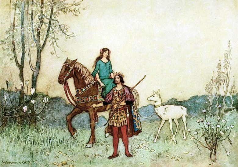 Brother and Sister by Warwick Goble