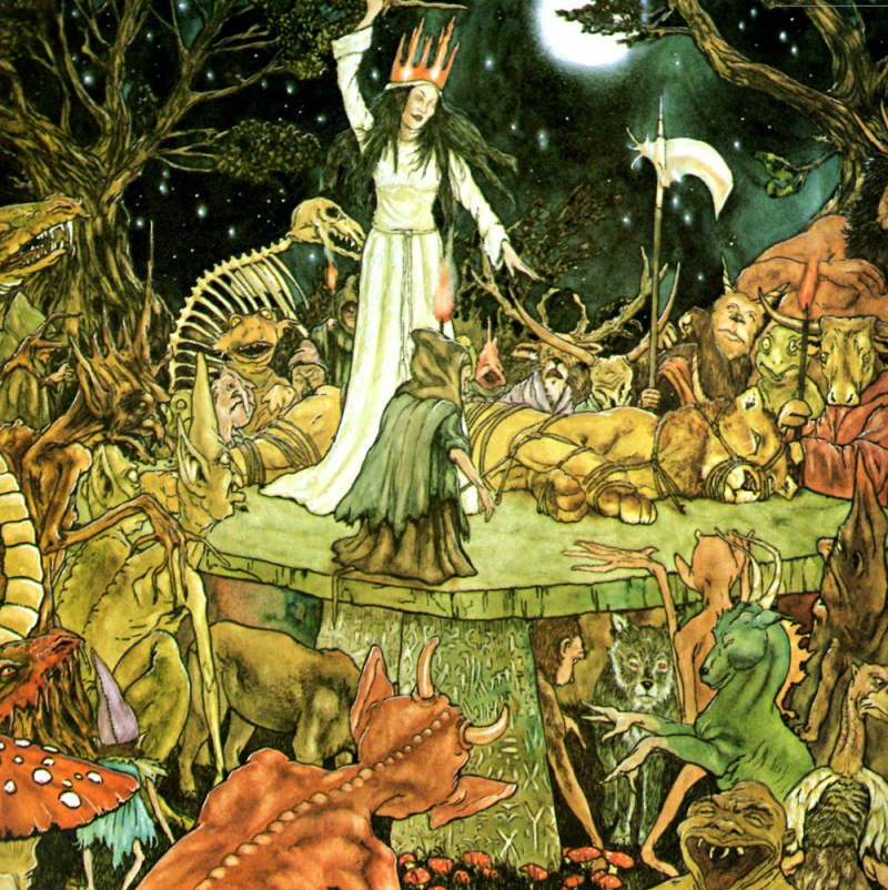 Narnia illustration by Michael Hague