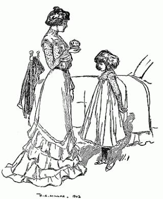 E. Nesbit's Five Children and It illustrated by HR Millar