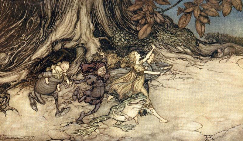 Fairies by Arthur Rackham