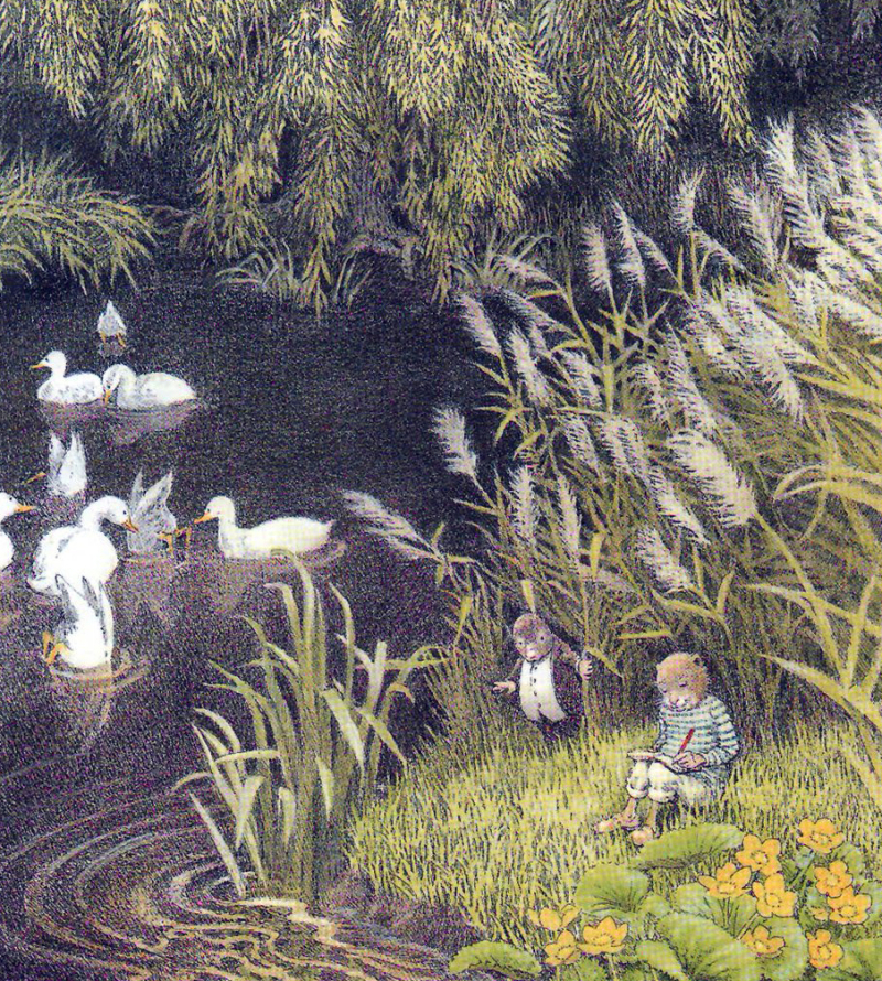 The Wind in the Willows illustrated by Inga Moore