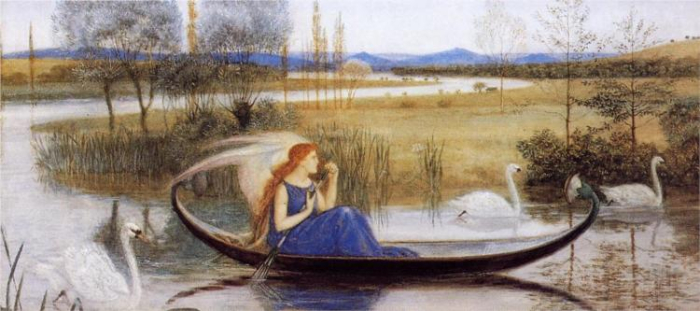 My Soul is an Enchanted Boat by Walter Crane