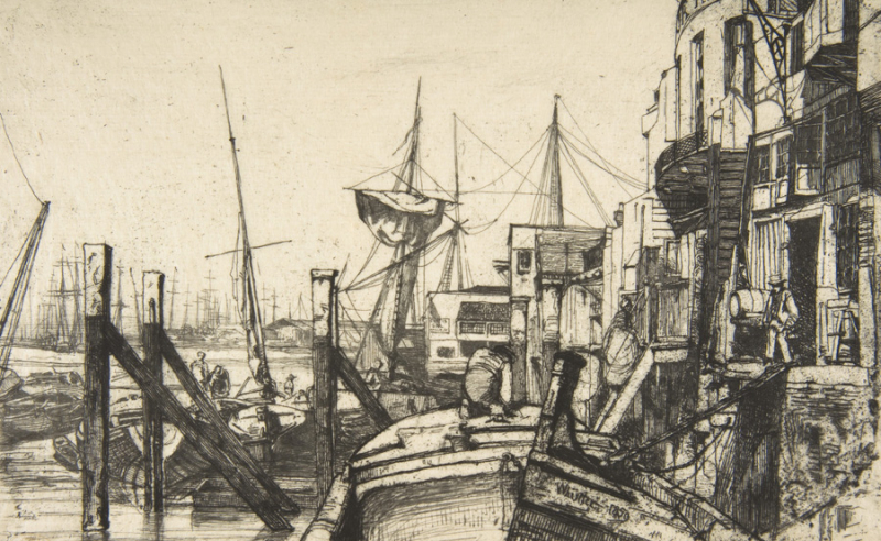 Limehouse by James McNeill Whistler