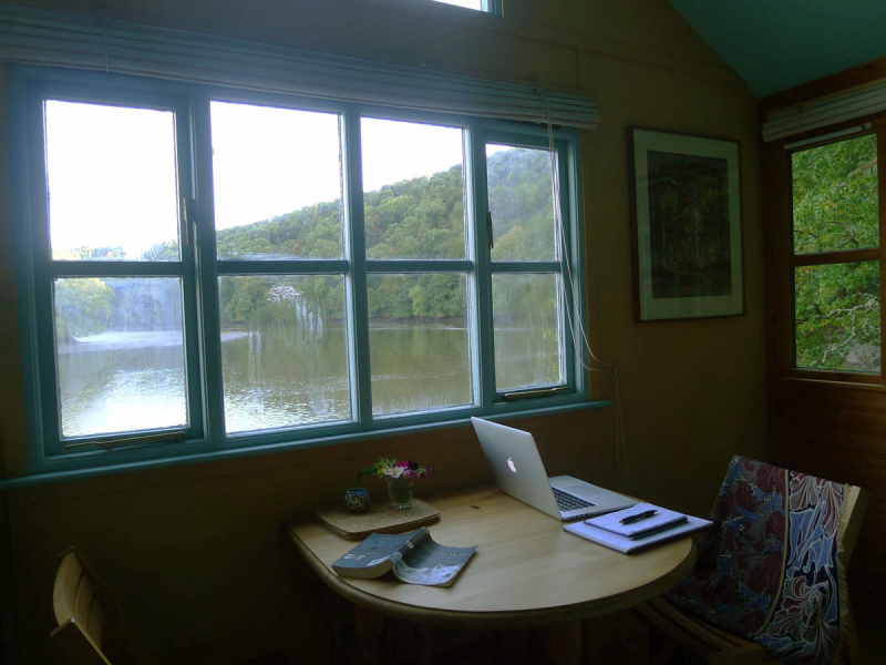 Writing on the river