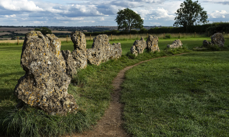 The Rollright Stones in Oxfordshire